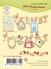 CSLC553349 Clear stamp LeaCreaDesign baby things