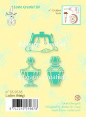 CSLC559678 Clearstamp LeCreaDesign Ladies Things
