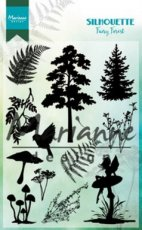 Clearstamp Marianne silhouette fairy forest