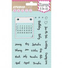 Clearstamp Studio Light Basic kalender