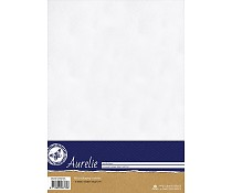 PAPAURSP1028 Hammered Cardstock White A4