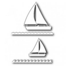 Marina Sailboats die Poppystamps