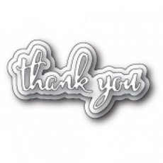 POSD1755 Spectacular Thank You die Poppystamps