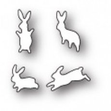 Leaping Little Bunnies die Poppystamps