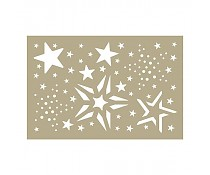 Template Merry Stars assortementstencil