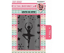 Ushi animation stamp ballerina