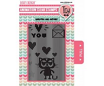 Ushi animation stamp Loving Cat